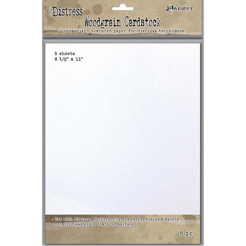 "Tim Holtz Distress Woodgrain Paper 8.5""X11"""
