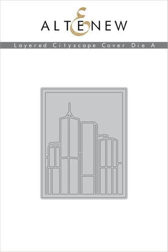 Stanzschablone Layered Cityscape Cover A