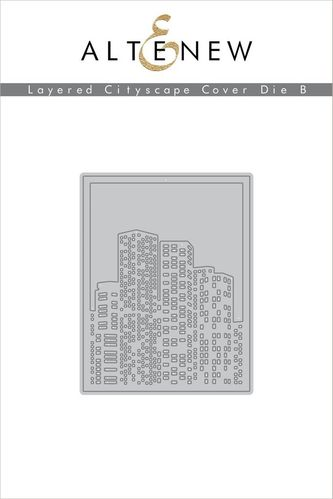 Stanzschablone Layered Cityscape Cover B