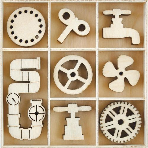 Mini Wooden Flourishes - Mechanisms
