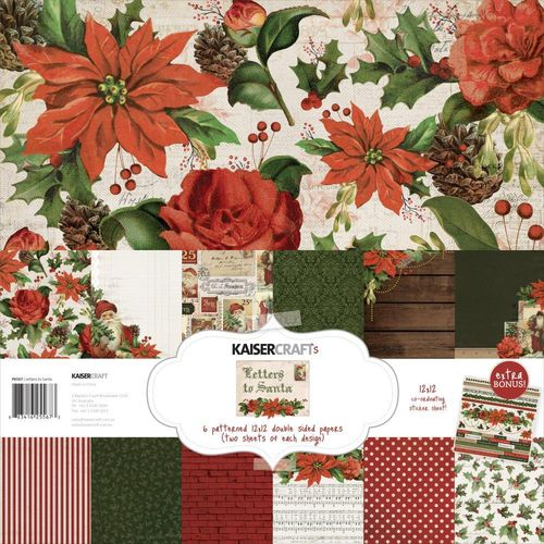 "Letters to Santa Paper Pack 12""x12"""