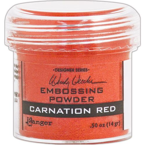 Embossingpulver Carnation Red