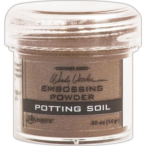 Embossingpulver Potting Soil