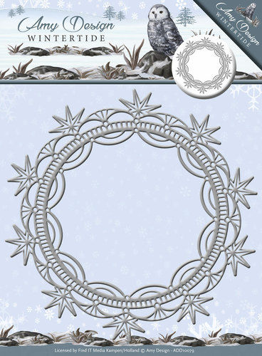 Stanzschablone Wintertide Ice Crystal Frame