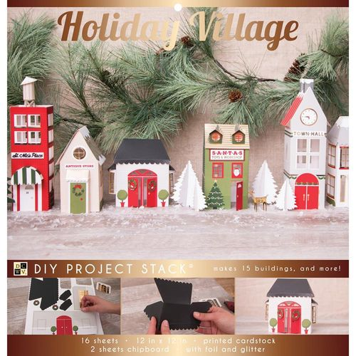 DIY Project Stack - Holiday Village