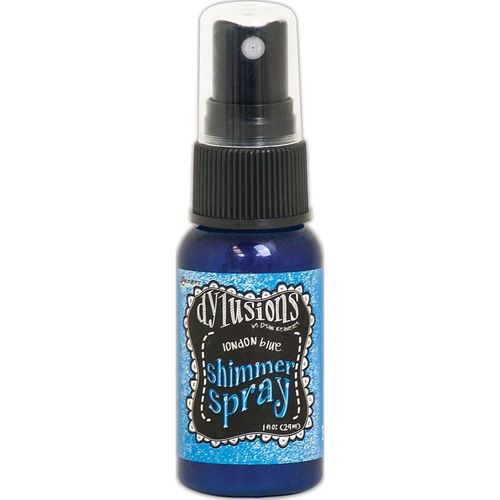 Dylusions Shimmer Spray - London Blue