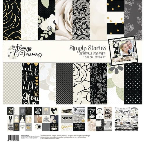 "Always & Forever Collection Kit 12"" x 12"""