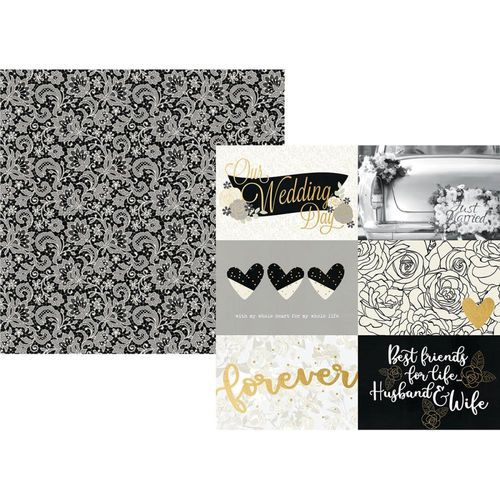 "Always & Forever Specialty Cardstock - 4""X6"" Horizontal Elements"