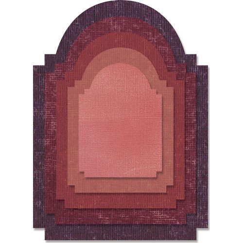 Sizzix Thinlits - Tim Holtz Stacked Archway