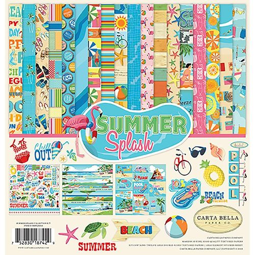 "Summer Splash Collection Kit 12""x12"""