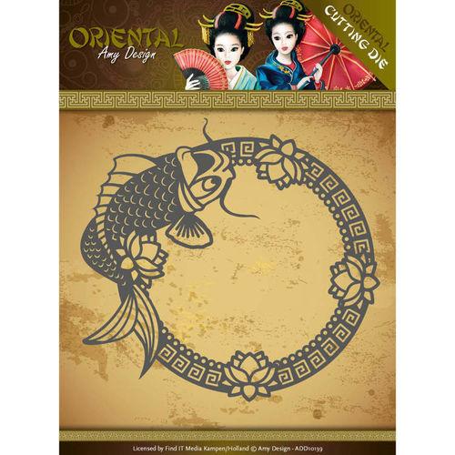 Koi ADD10139 Stanzschablone  von Amy Design Oriental