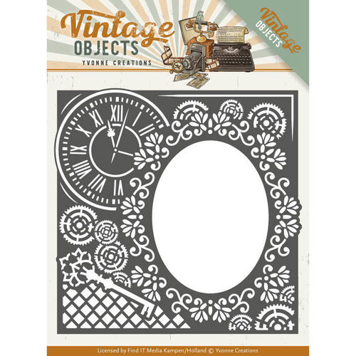 Stanzschablone Vintage Objects - Endless Times Frame