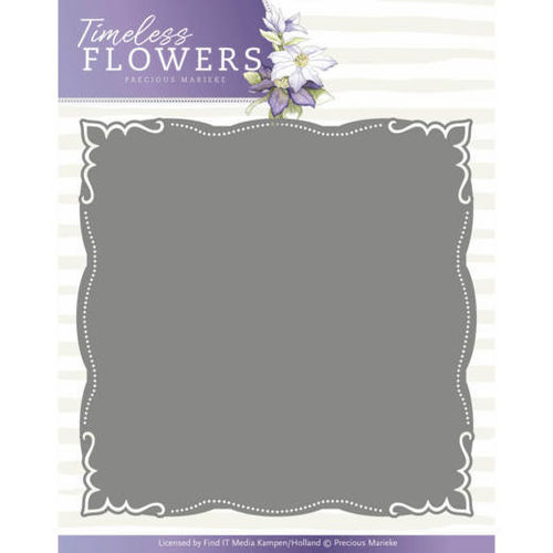 Stanzschablone Timeless Flowers - Layered Frame