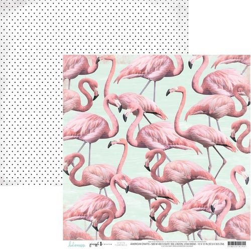 Papier Heidi Swapp Pineapple Crush - Flamingle