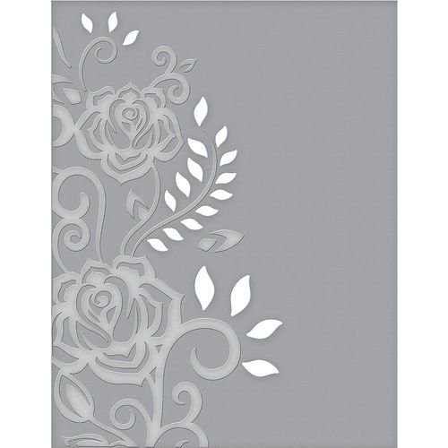 Spellbinders Cutting Embossing Folders - Rose Flourish