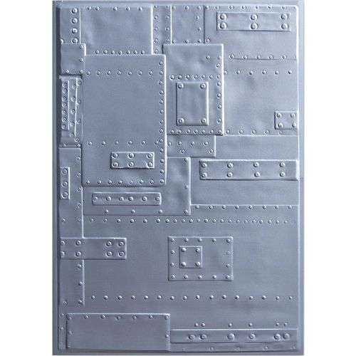Tim Holtz Texture Fades Embossing Folder - Foundry