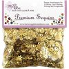 Premium Sequins - Golden