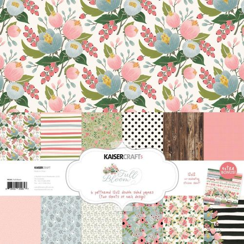 "Full Bloom Paper Pack 12""x12"""