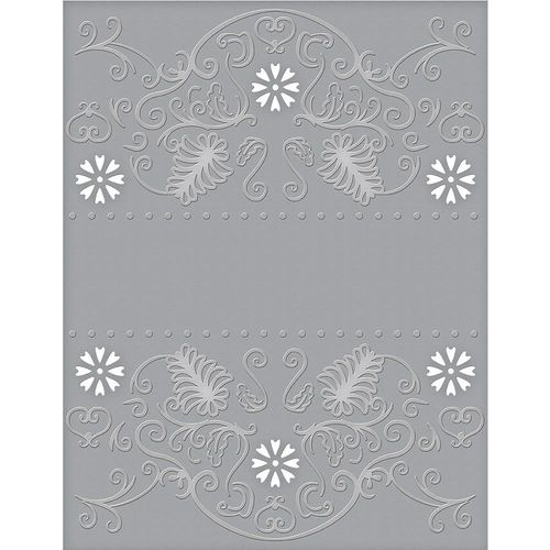 Spellbinders Cutting Embossing Folders - Flora Banner