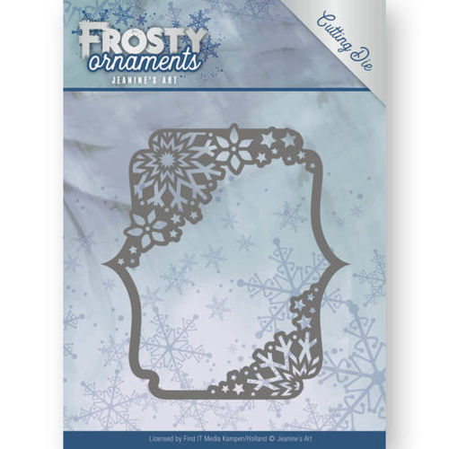 Stanzschablone Frosty Ornaments - Rectangle Ornament