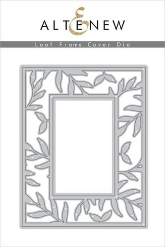 Stanzschablone Leaf Frame Cover