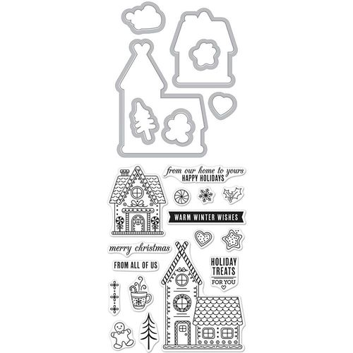 Gingerbread House - Stamp & Cut