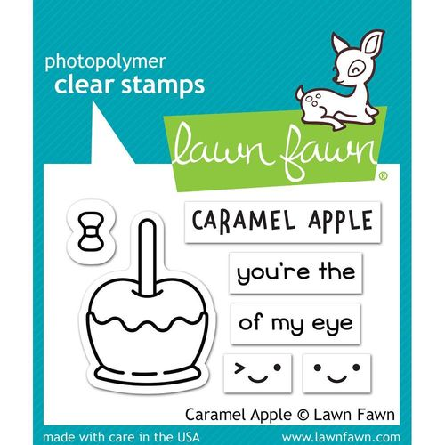 Clear Stamp - Caramel Apple