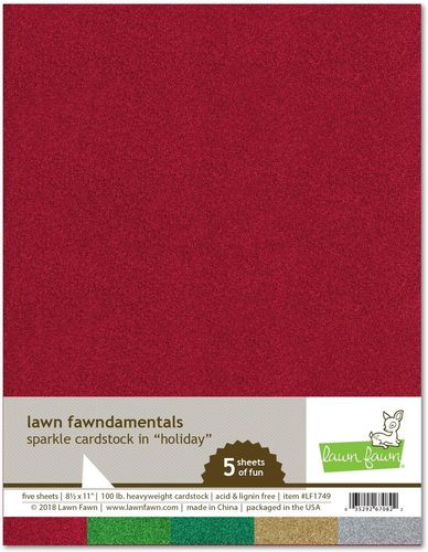 Sparkle Cardstock Holiday