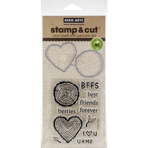Besties Stamp & Cut