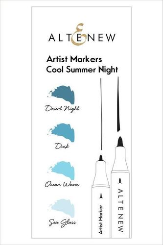 Altenew Artist Markers Set  - Cool Summer Night