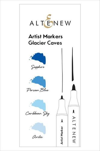 Altenew Artist Markers Set  - Glacier Caves