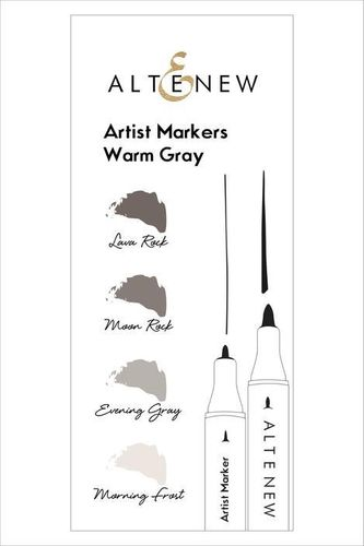 Altenew Artist Markers Set  - Warm Gray