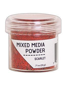 Embossingpulver Mixed Media Powder - Scarlet