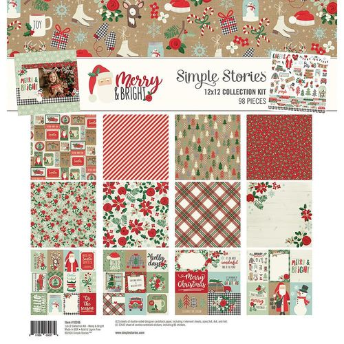 Simple Stories Collection Kit - Merry & Bright