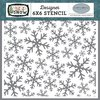 "Schablone Frosted Window Panes 6"" x 6"""