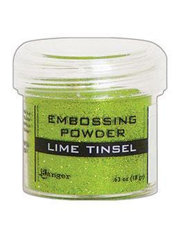 Embossingpulver Lime Tinsel