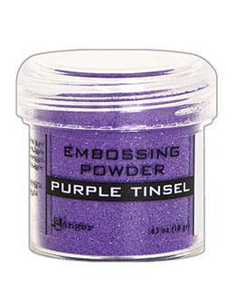 Embossingpulver Purple Tinsel