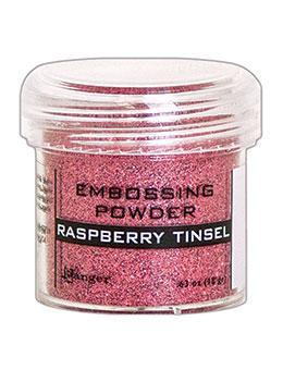 Embossingpulver Raspberry Tinsel