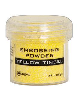 Embossingpulver Yellow Tinsel