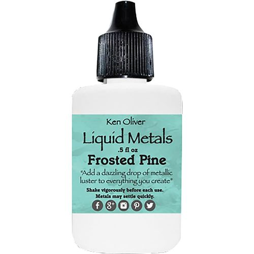 Color Burst Liquid Metals - Frosted Pine