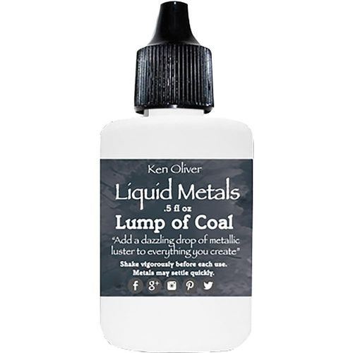 Color Burst Liquid Metals - Lump of Coal