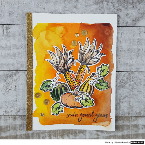Autumn Bounty Stamp & Cut