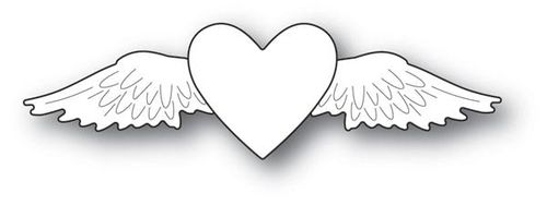 Stanzschablone Winged Heart