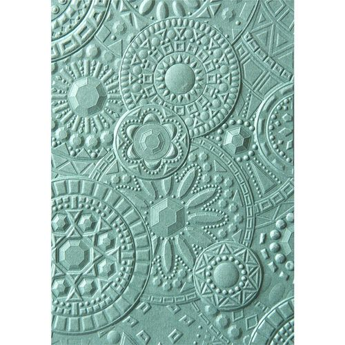 Textured Impressions Embossing Folder - Mosaic Gems