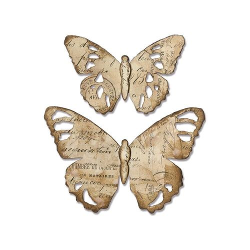 Sizzix BigZ - Tim Holtz Tattered Butterfly