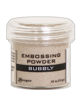 Embossingpulver Bubbly metallic