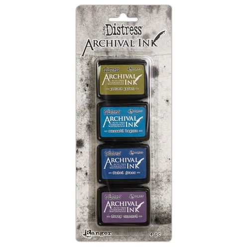Tim Holtz Distress Archival Mini Ink Kit - #2