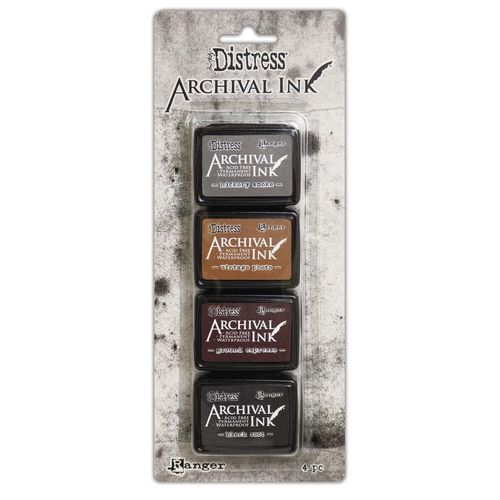 Tim Holtz Distress Archival Mini Ink Kit - #3