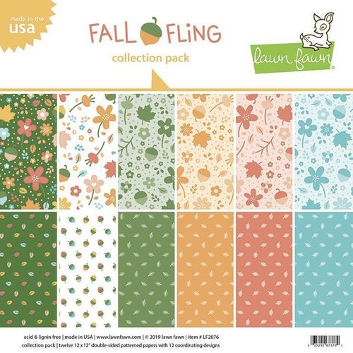 "Fall Fling Collection Pack 12""x12"""