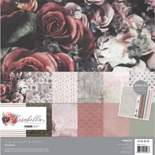 "Rosabella Paper Pack 12""x12"""